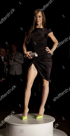 Celebrity Tara Palmer-tompkinson Parades the Latest Autumn/winter Collection From Designer Philip Treacy at London Fashion Week 2006 at the National History Museum in London On Thursday 16 February 2006