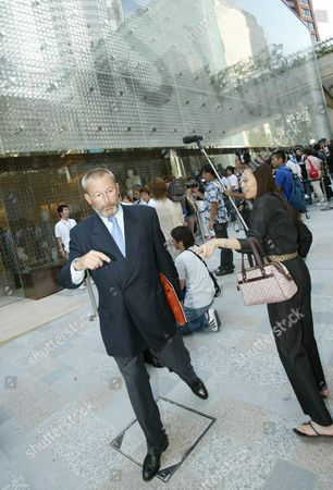 Stock Picture of Patrick Louis Vuitton Attends the Grand Opening of the New Louis Vuitton Boutique in Roppongi Hills Tokyo Friday 5 September 2003 More Than Two Hundred Customers Waited Outside the Store Before It's Opening Epa Photo/epa/everett Kennedy Brown// Japan Tokyo
