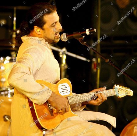 Musician Salman Ahmad of Pakistan Performs During an Hiv/aids Event Called 'An Evening of Remembrance and Hope: Uniting the World Against Aids' in the General Assembly Hall at United Nations Headquarters in New York On Thursday 01 June 2006