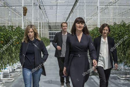 Stock Image of Faye Marsay, Jonas Karlsson, Esther Hall, Kelly Macdonald