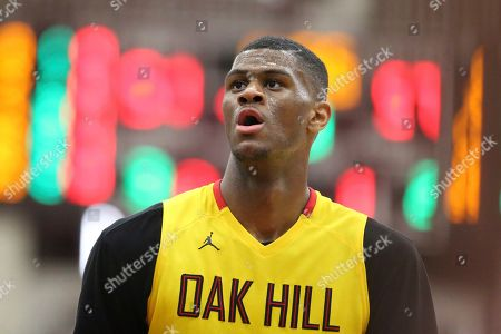 Oak Hill Academy's Billy Preston #23 is seen against Nathan Hale during the second half of a high school basketball game at the 2017 Hoophall Classic, in Springfield, MA. Nathan Hale won 80-77