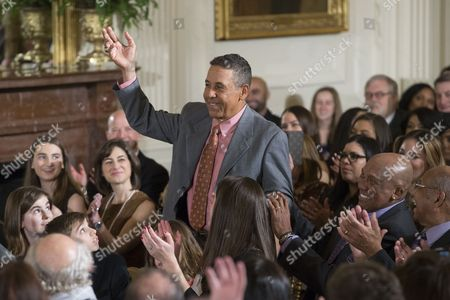 Editorial image of US President Barack Obama welcomes the Chicago Cubs to the White House, Washington, USA - 16 Jan 2017