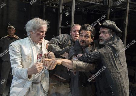 Jack Klaff as Satin, Jacob Banser as Krivoy, Doug Rao as Vassily, Mark Jax as Bubnov