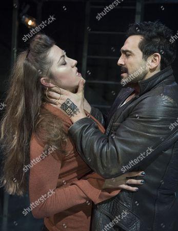 Stock Image of Ruth Everett as Vassilissa, Doug Rao as Vassily,