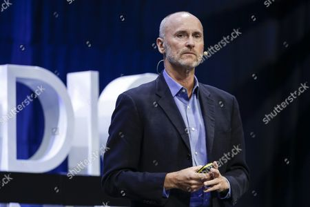 Stock Photo of Chip Conley, Head of Global Hospitality & Strategy at Airbnb