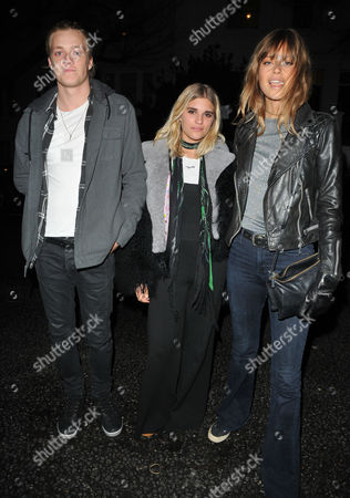 Rufus Taylor, Tigerlily Taylor and Jessica Clarke