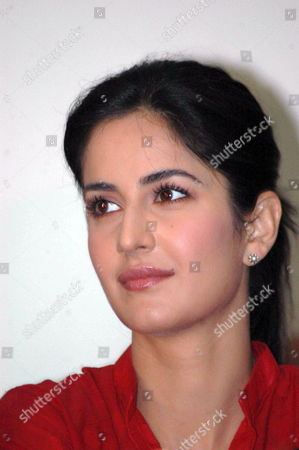 Bollywood Actress Katrina Kaif Attends a Press Conference On Her Visit to Bhopal For the Shooting of Her Upcoming Film 'Rajneeti' in Bhopal India 10 February 2009 the Film Has Been Directed by Bollywood Director Prakash Jha