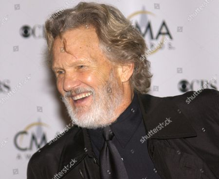 Actor and Musician Kris Kristofferson Arrives at the Grand Ole Oprey House For the Country Music Awards Wednesday 05 November 2003 in Nashville Tennessee