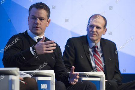 Matt Damon and Gary White