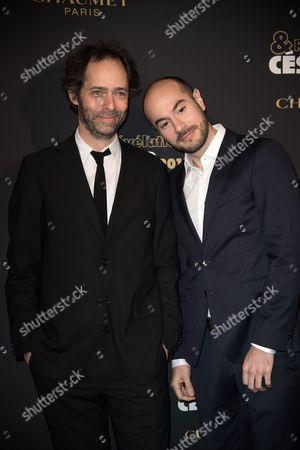 Julien Rappeneau and Kyan Khojandi
