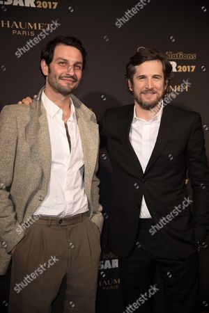 Marc Ruchmann and Guillaume Canet
