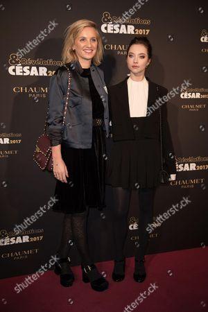 Anastasia Shevtsova and Noemie Saglio