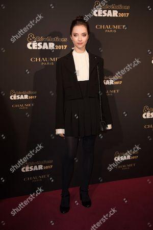 Editorial photo of Cesar Revelations Gala, Arrivals, Paris, France - 16 Jan 2017