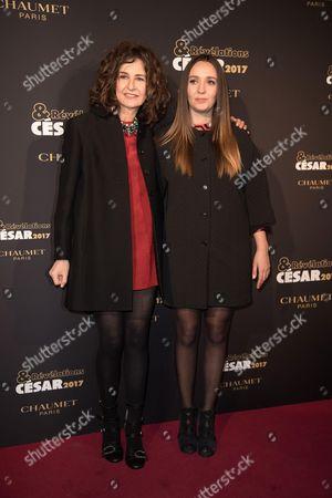 Ginger Roman and Valerie Lemercier