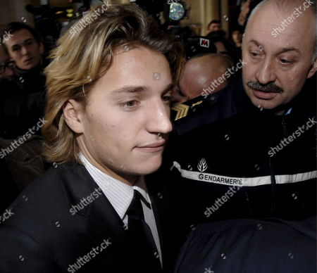 Jean Sarkozy (l) Son of French President Nicolas Sarkozy Arrives at Court in Paris France 04 December 2007 Jean Sarkozy Came to the Publics Attention After Allegedly Crashing His Scooter Into the Back of a Bmw Whose Occupant Pressed Charges of Reckless Driving and Fleeing the Scene of an Accident