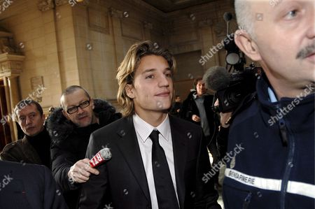 Jean Sarkozy (c) Son of French President Nicolas Sarkozy Arrives at Court in Paris France 04 December 2007 Jean Sarkozy Came to the Publics Attention After Allegedly Crashing His Scooter Into the Back of a Bmw Whose Occupant Pressed Charges of Reckless Driving and Fleeing the Scene of an Accident