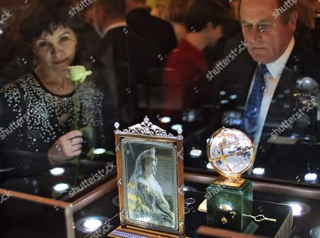 Editorial photo of Russia Faberge Exhibition - Dec 2004