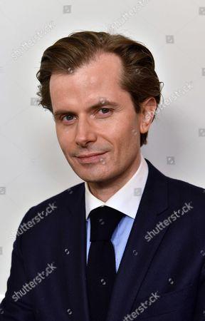 Editorial picture of Guillaume Larrive, depute de l'Yonne, Paris, France - 16 Jan 2017