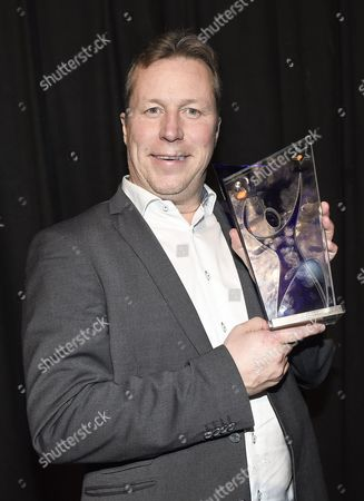 Jan-Ove Waldner with honorary award