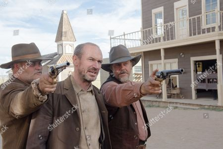 Stock Photo of Tommy Nohilly, Toby Huss, Larry Fessenden