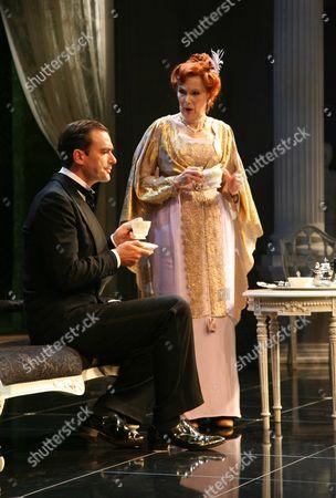 'The Circle' - Richard Lintern as Arnold Champion-Cheney and Susan Hampshire as Lady Kitty