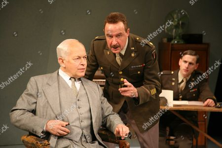 'Taking Sides' - Michael Pennington as Wilhelm Furtwangler, David Horovitch as Major Arnold and Martin Hutson as David Wills.