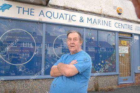 Aquarium owner Peter Newman