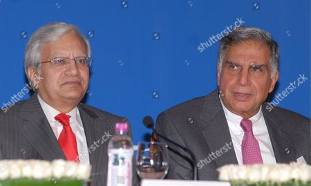 Ravi Kant Managing Director Tata Motors (l) Ratan Tata Chairman Tata Group (c) and Tata Motors Address a Press Conference to Announce the Launch of Tata Nano in Mumbai India 23 March 2009 Tata Motors On 23 March Announced the Commercial Launch of the Tata Nano Keenly Awaited Across India Since Its Unveiling On 10 January 2008 Speaking at a Press Conference Chairman Ratan Tata Said 'The Nano Represents the Spirit of Breaking Conventional Barriers' the Tata Nano is Currently Being Manufactured at the Company's Pantnagar Plant in Indian State of Uttarakhand in Limited Numbers the New Dedicated Plant at Sanand in Gujarat Will Be Ready in 2010 with an Annualised Capacity of 350 000 Cars the Inaugural Price of Rs 100 000 ($2 000) at the Factory Gate Which Makes the Nano the World's Cheapest Car