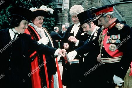 Stock Picture of 'That's Your Funeral'  - David Battley, John Sharp, Frank Thornton and Geoffrey Sumner