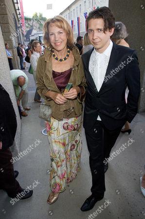 Gaby Dohm and son Julian Plica