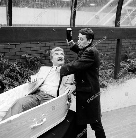 'The Tube' - Peter Adamson and Jools Holland
