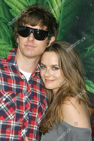 Alicia Silverstone and Christopher Jarecki