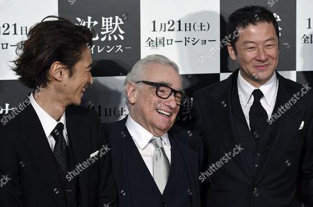 Martin Scorsese and Yosuke Kubozuka
