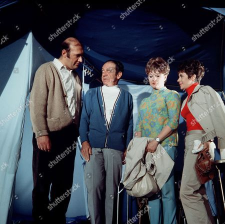 'Carry on Camping'   Film Bernard Bresslaw, Sid James, Joan Sims and Dilys Laye