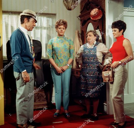 'Carry on Camping'   Film Sid James, Joan Sims, Amelia Bayntun and Dilys Laye