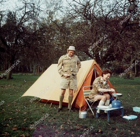 'Carry on Camping'   Film Terry Scott and Betty Marsden