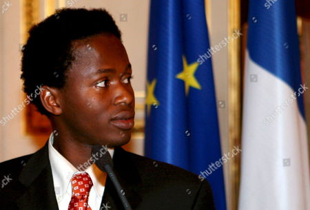 Former Child Soldier Ishmael Beah From Sierra Leone Answers Media Questions During a Press Conference About Child Soldiers at Quai D'orsay Paris France 16 January 2008 There Are an Estimated Three Hundred Thousand Child Soldiers Around the World Every Year the Number Grows As More Children Are Recruited For Use in Active Combat