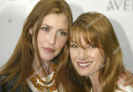 Actress Jane Seymour (r) and Her Daugher Katie Arrive For the Launch of a New Clothing Line Edun From U2 Singer Bono and His Wife Ali Hewson at the Saks Fifth Avenue Store in Beverly Hills Calif Friday 25 March 2005 the Design Duties Are Left Up to Hewson and Rogan Gregory the Latter an Established Designer with His Own Line That Emphasizes Organic Fabrics and Ethical Guidelines