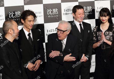 Shinya Tsukamoto, Yosuke Kubozuka, Martin Scorsese, Tadanobu Asano, Nana Komatsu
