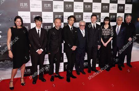 Ryo Kase, Shinya Tsukamoto, Yosuke Kubozuka, Martin Scorsese, Tadanobu Asano, Nana Komatsu, Issei Ogata