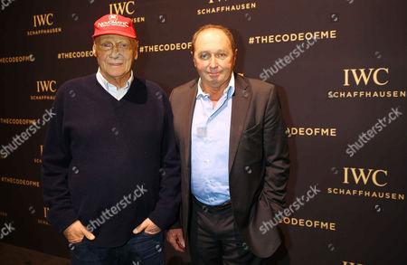 Niki Lauda, Jochen Mass