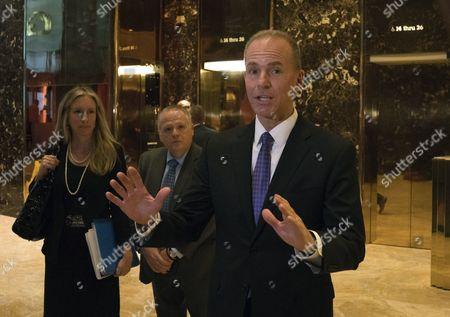 Editorial image of Meetings at Trump Tower, New York City, USA - 17 Jan 2017