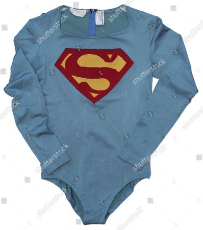 Superman costume worn by Christopher Reeve in the 1978 film 'Superman'