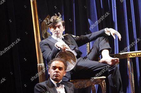 Peter de Jersey (Horatio)  David Tennant (Hamlet)