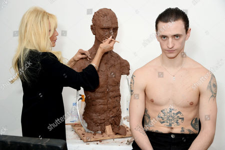 Frances Segelman and Sergei Polunin