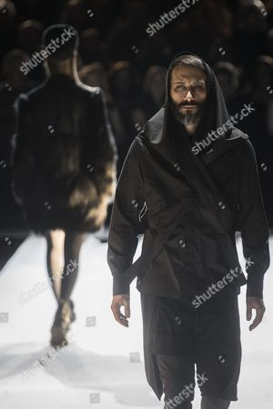 Editorial picture of Esther Perbandt show, Runway, Autumn Winter 2017, Mercedes-Benz Fashion Week, Berlin, Germany - 17 Jan 2017