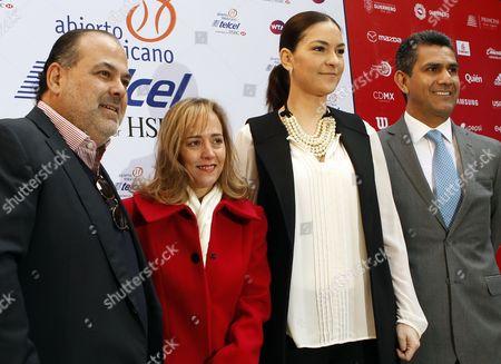 Raul Zurutuza, Valentina Gomez and Monserratt Munlloch