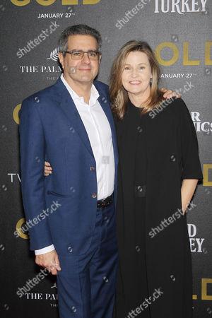 Editorial photo of TWC-Dimension with Popular Mechanics, The Palm Court & Wild Turkey Bourbon Hosts The World Premiere 'Gold', New York, USA - 17 Jan 2017