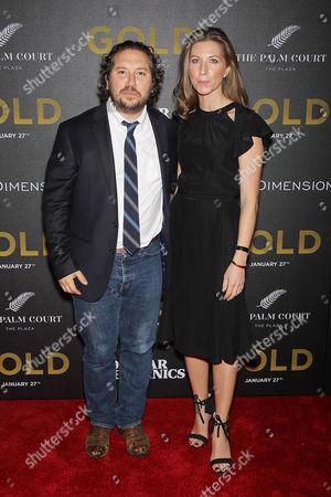 Teddy Schwarzman (Producer) with Wife
