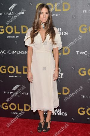 Editorial image of 'Gold' film premiere, Arrivals, New York, USA - 17 Jan 2017